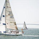 47ª SEMANA NAUTICA - CRUCERO. EL PUERTO DE SANTA MARÍA, ESPAÑA - 2018, AGOSTO 18: durante la competición en la Bahía de Cádiz (SEMÁNA NÁUTICA) el 18 de AGOSTO de 2018 en El Puerto de Santa María - Cádiz - España (Photo by Jesus DYañez/Agence DYMAGES)