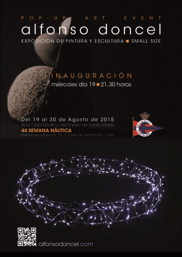 Exposición del artista Alfonso Doncel.