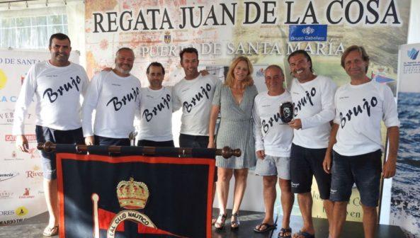 El 'Brujo' gana la 23ª Regata Juan de La Cosa y sentencia 'la decana'.