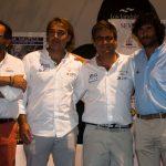 De izda a dcha. Mariño, Sánchez, Ruiz y Castañeda