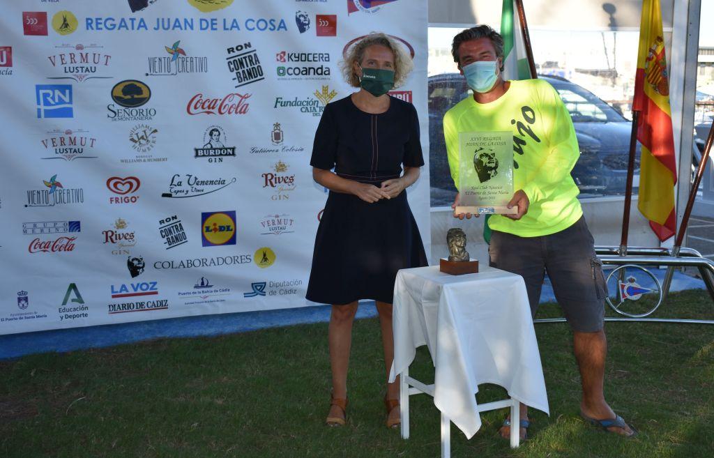 El 'Brujo' de Federico Linares llega líder a la última jornada tras ganar la 26ª Regata Juan de La Cosa