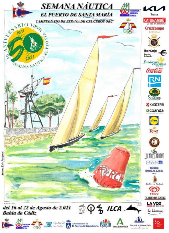 Ya tenemos el cartel de la 50 edición, con todos los patrocinadores y colaboradores