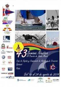 CARTEL SEMANA NAUTICA - 14
