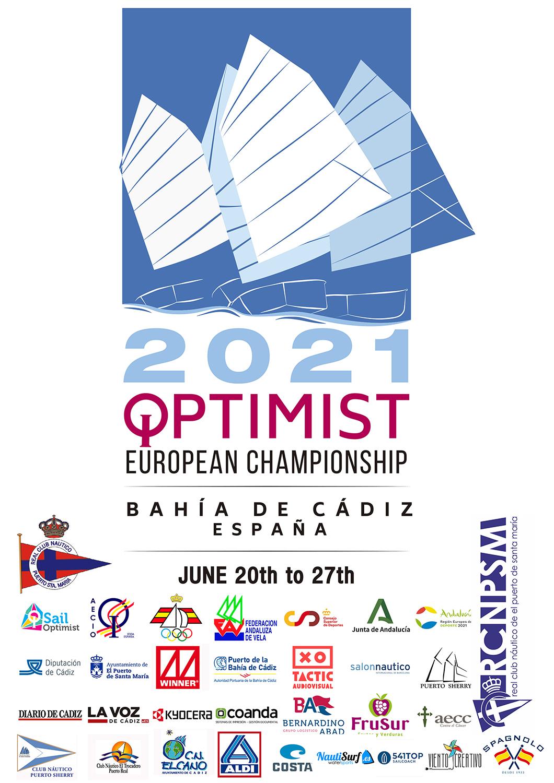 CARTEL EUROPEO OPTIMIST 2021